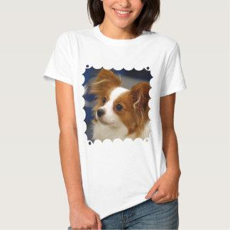 Cute Papillon Dog Tshirts