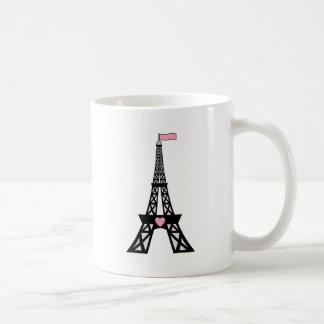 Cute Paris Eiffel Tower Coffee Mug
