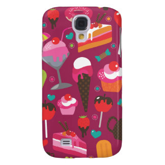 Cute part snacks candy ice cream cake case galaxy s4 case