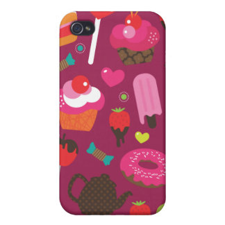 Cute part snacks candy ice cream cake case iPhone 4/4S cover