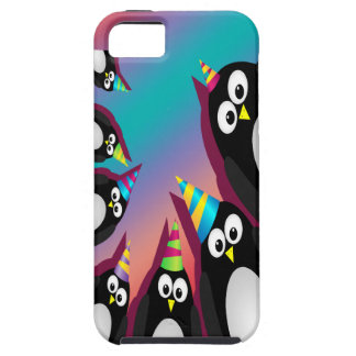 cute party penguins iphone 5 vibe case iPhone 5 cover