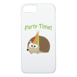 Cute Party Time Hedgehog iPhone 7 Case