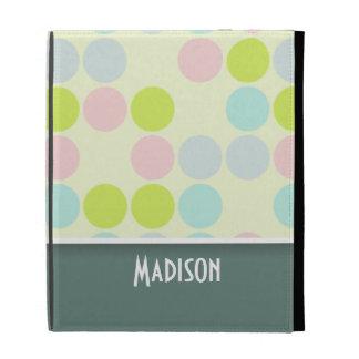 Cute Pastel Color iPad Folio Cover
