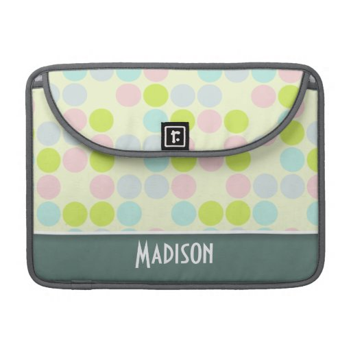 Cute Pastel Color Sleeve For MacBooks