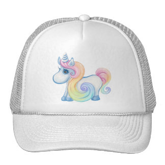Cute Pastel Colored Unicorn Cap