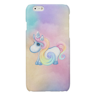 Cute Pastel Colored Unicorn Case iPhone 6 Plus Case