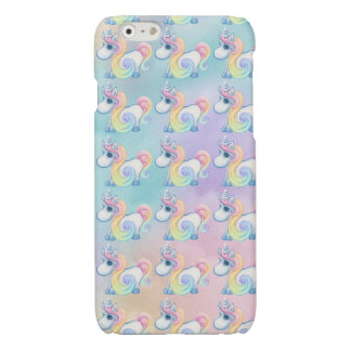 Cute Pastel Colored Unicorn Pattern Case iPhone 6 Plus Case