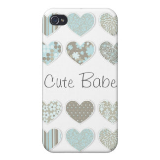 Cute Pastel Hearts Case iPhone 4/4S Covers