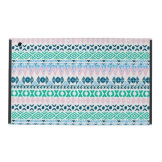 Cute pastel navaho art patterns iPad cover