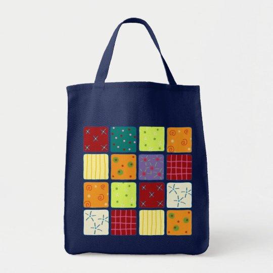 Cute Patchwork Pattern Bag