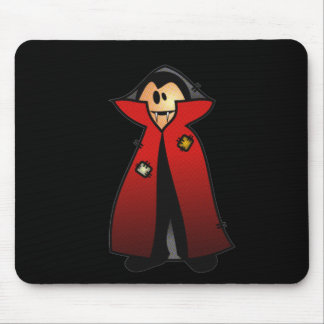CUTE PATCHY DRACULA VAMPIRE MOUSE PAD