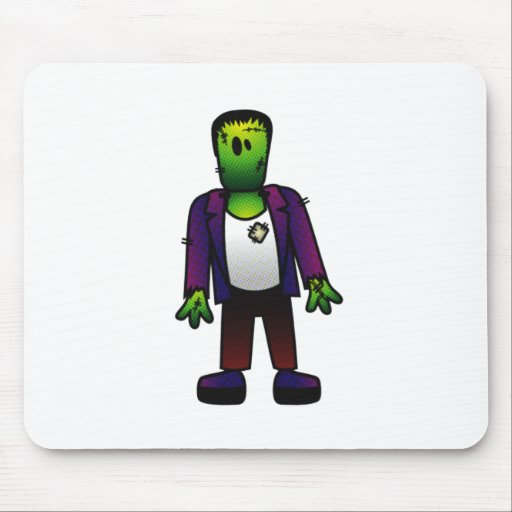 CUTE PATCHY FRANKENSTEIN MOUSEPAD