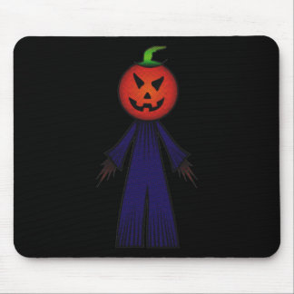 CUTE PATCHY PUMPKINHEAD SCARECROW MOUSE PAD