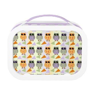 Cute Pattern Owls Lunch box