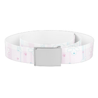 Cute pattern with dogs belt
