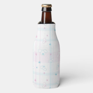 Cute pattern with dogs bottle cooler