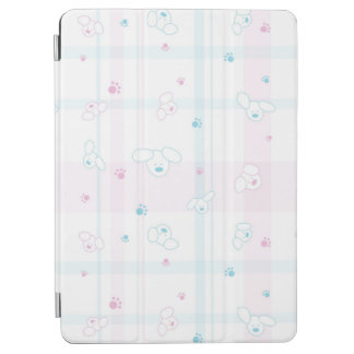 Cute pattern with dogs iPad air cover