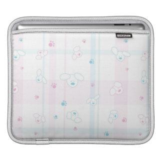 Cute pattern with dogs iPad sleeve