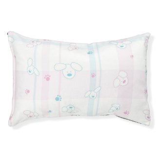 Cute pattern with dogs pet bed