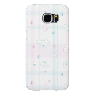 Cute pattern with dogs samsung galaxy s6 cases