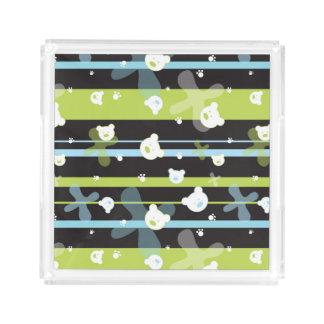 Cute pattern with little bears
