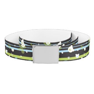 Cute pattern with little bears belt