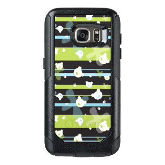 Cute pattern with little bears OtterBox samsung galaxy s7 case