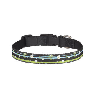 Cute pattern with little bears pet collar