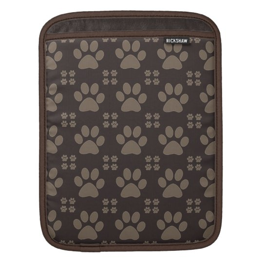 Cute Paw Print iPad Sleeves