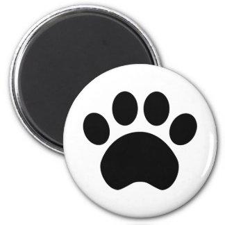 Cute Paw Print Magnet