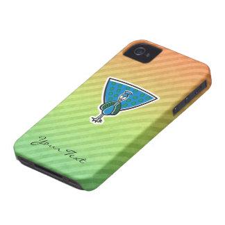 Cute Peacock Design iPhone 4 Cases