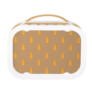 Cute Peanut Pattern Lunch Box