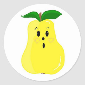 Cute Pear Sticker