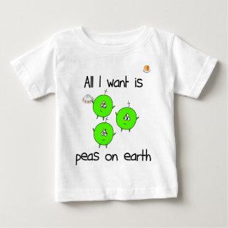 Cute Peas on Earth Infant T-shirt