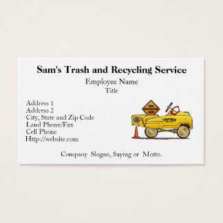 Cute Peddle Truck Peddle Car Business Card
