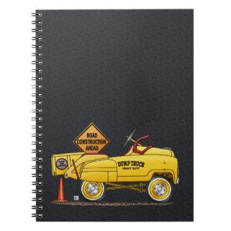 Cute Peddle Truck Peddle Car Note Books