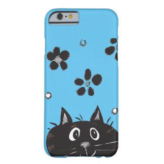 Cute Peek A Boo Cat IPhone Case