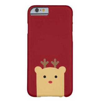Cute Peekaboo Reindeer iPhone 6 Case