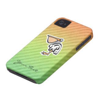 Cute Pelican Colorful iPhone 4 Case
