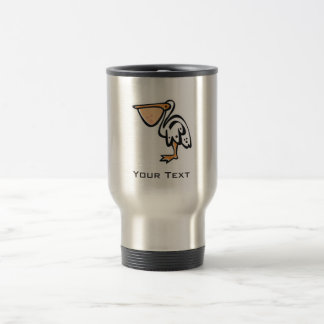 Cute Pelican; Cool Travel Mug