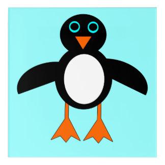 Cute Penguin Acrylic Wall Art