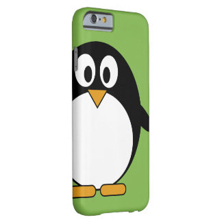 Cute penguin barely there iPhone 6 case
