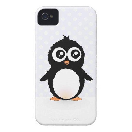 Cute penguin cartoon blackberry bold case
