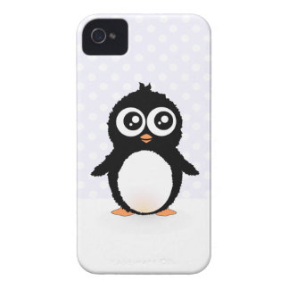Cute penguin cartoon Case-Mate iPhone 4 case