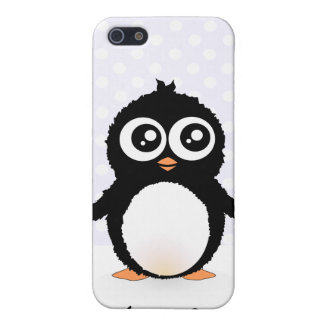 Cute penguin cartoon cover for iPhone 5/5S