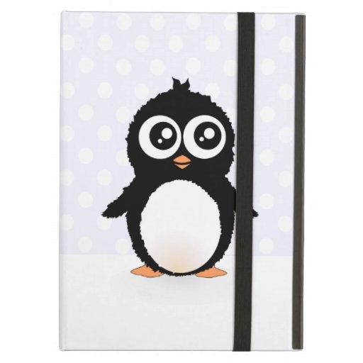 Cute penguin cartoon iPad folio cases