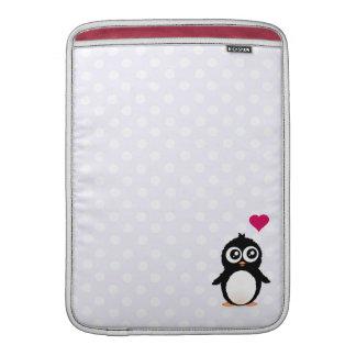 Cute penguin cartoon sleeve for MacBook air