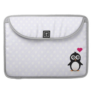 Cute penguin cartoon sleeve for MacBook pro