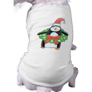 Cute Penguin Christmas Dog t-shirt