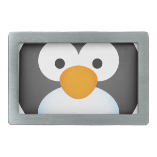 Cute Penguin design Rectangular Belt Buckle